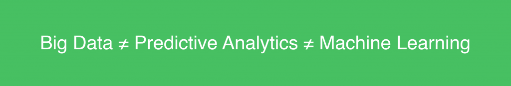 bigdata_machinelearning_predictiveanalytics - predictive analytics