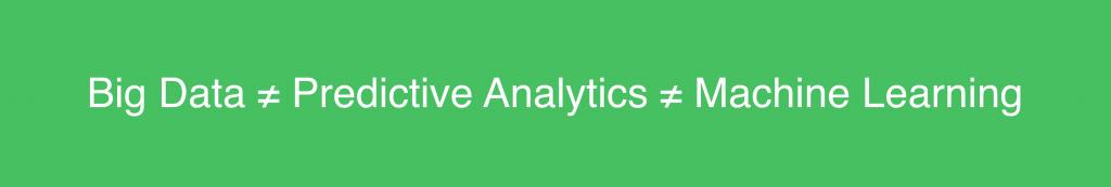 bigdata_machinelearning_predictiveanalytics - predictive analytics
