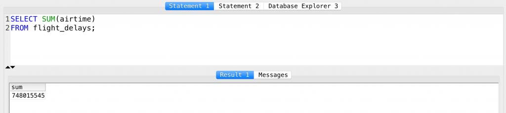 SQL SUM function