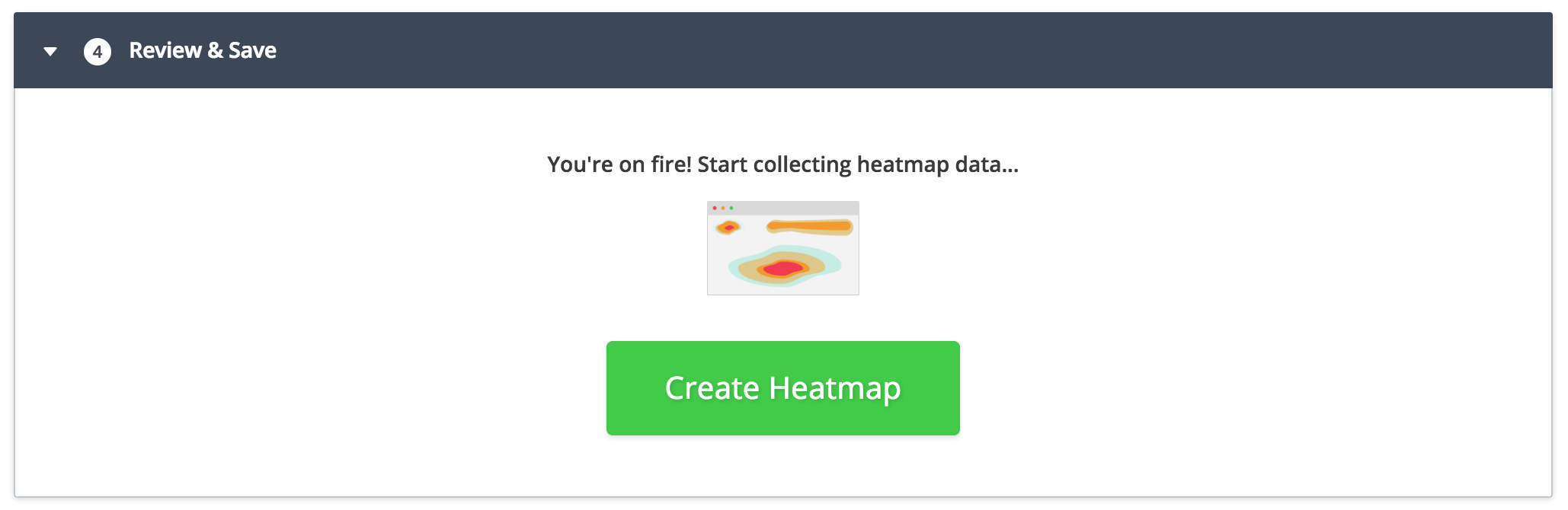 step4 - create website heatmap