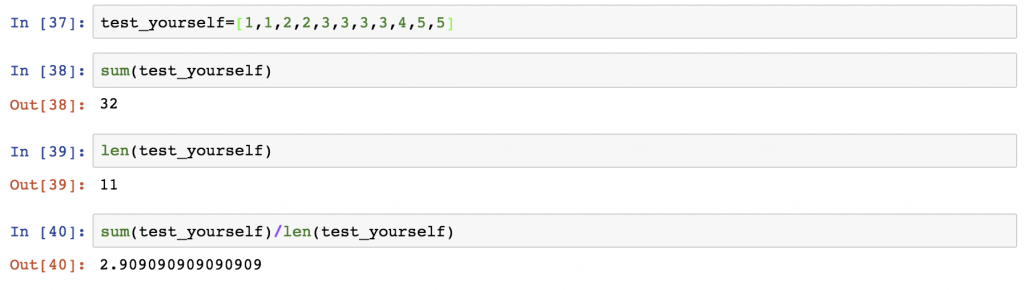 22 - Python functions and methods - test yourself 1