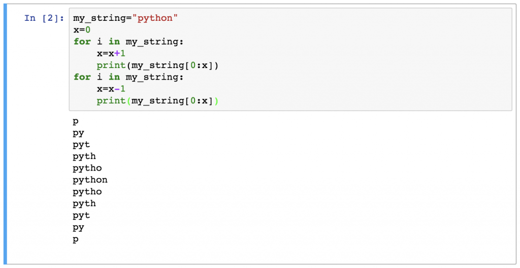 14 - Python For Loops Task