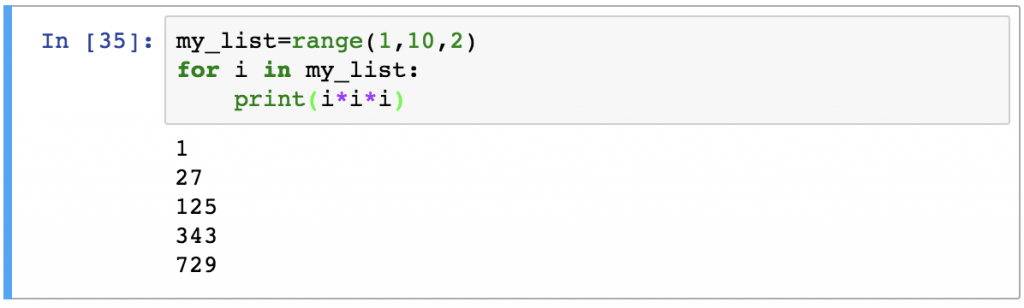 9 - Python For Loops range other example