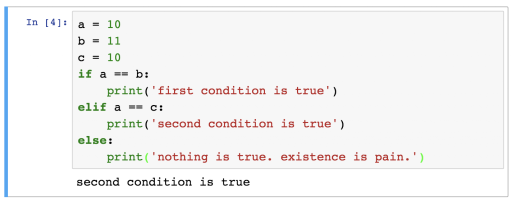 Python if statement condition sequence