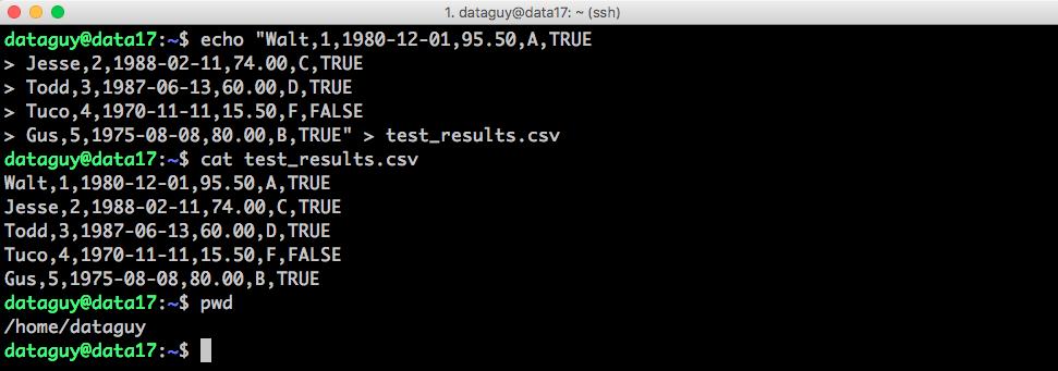 import data postgresql - create the csv file