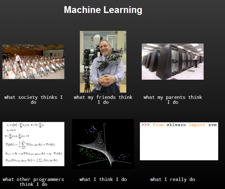 machine Learning meme
