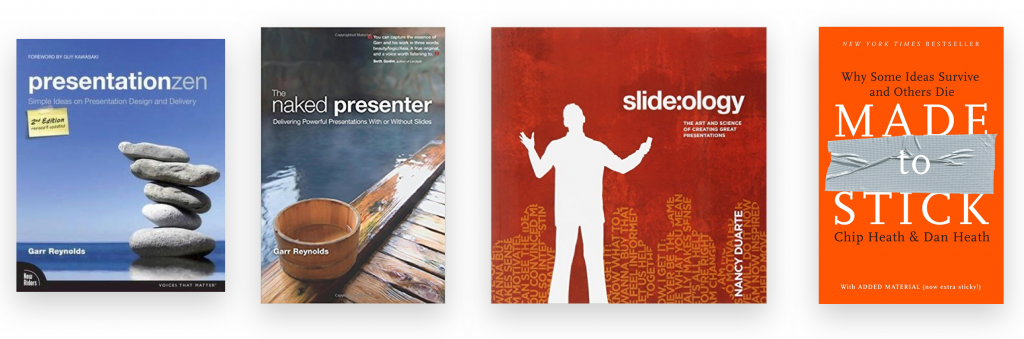 presentation tips data professionals books