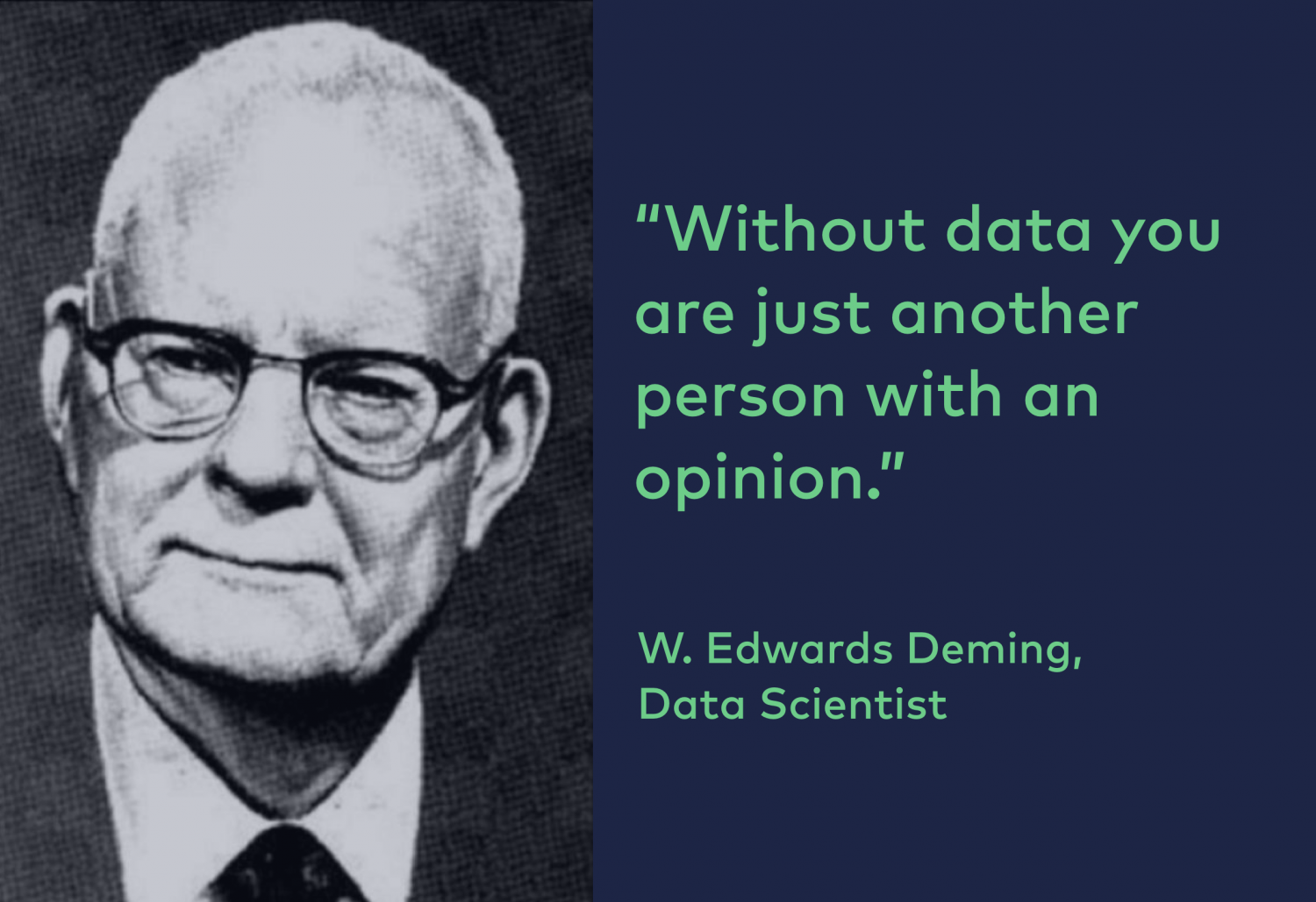 data strategy without data you are just another person with an opinion 3