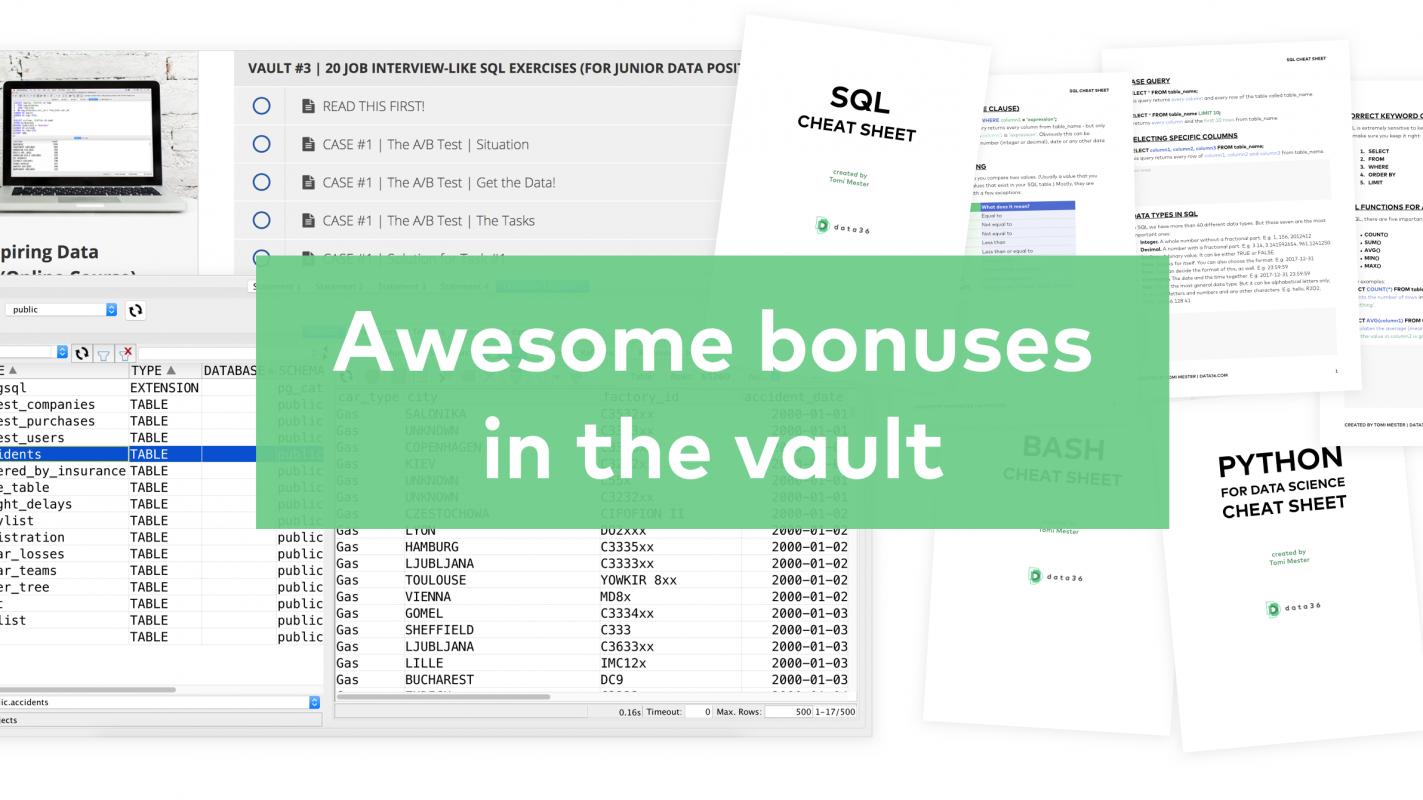 sql online course bonuses 2