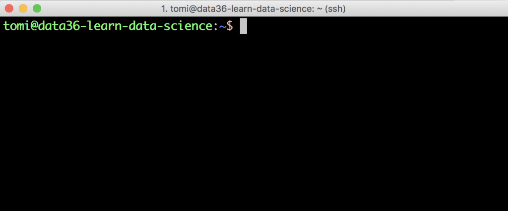 web scraping tutorial 1 - login terminal