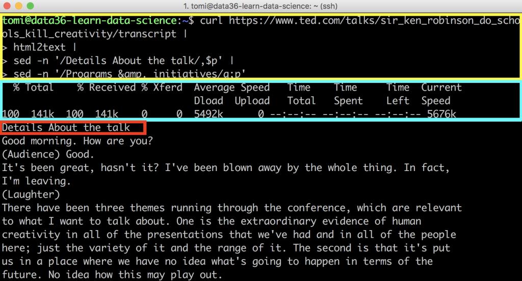 web scraping tutorial 14 - status bar 3
