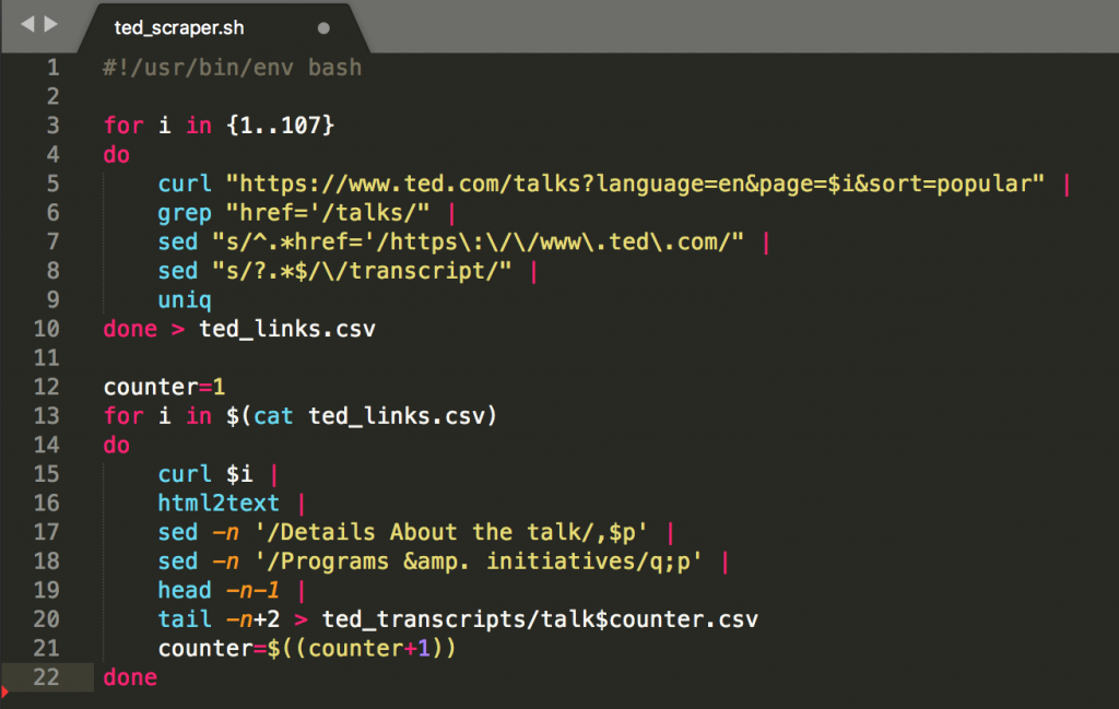 sublime text 3 scraping multiple web pages and urls