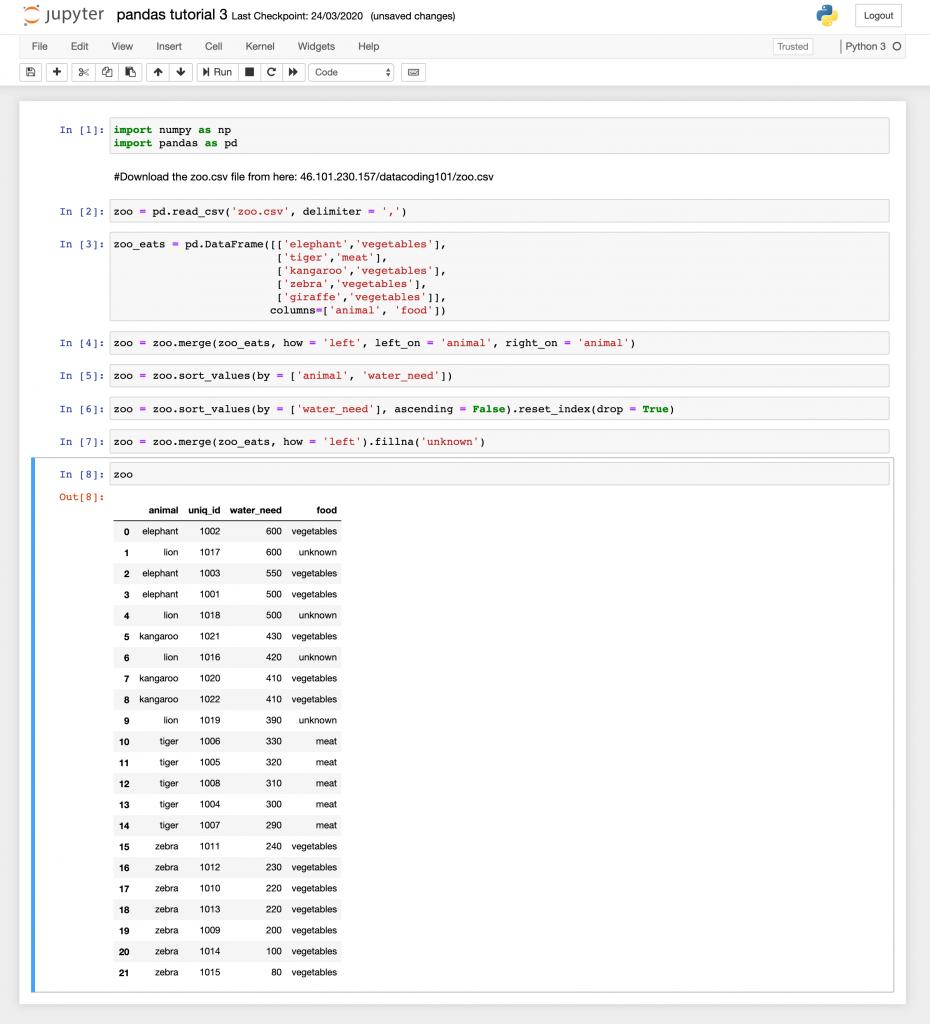 Scripting in python tutorial