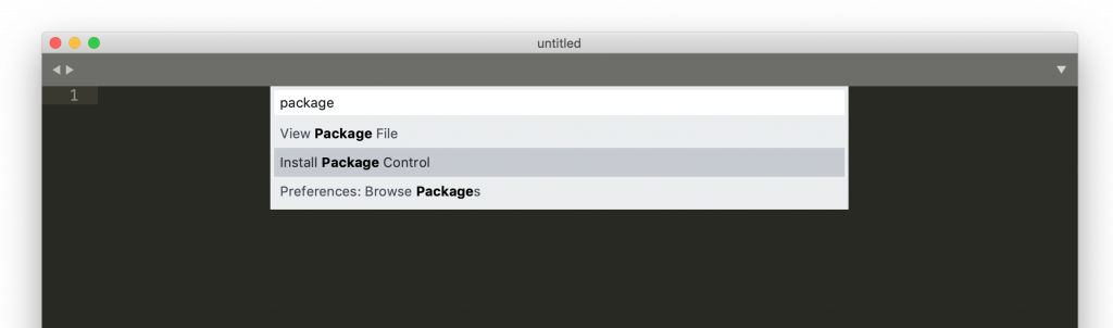 install package control to sublime text 3