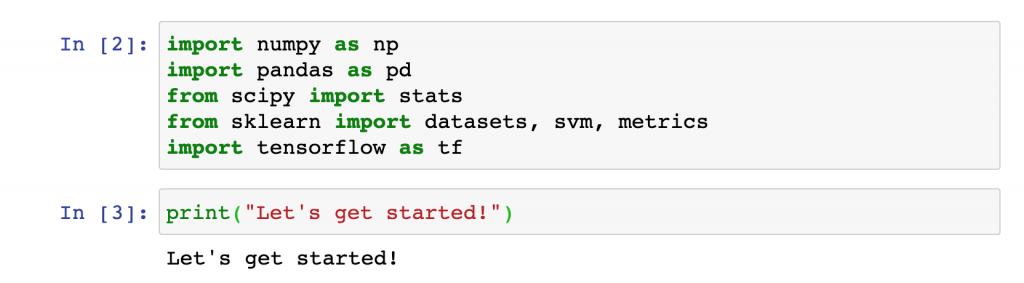 machine learning related python libraries