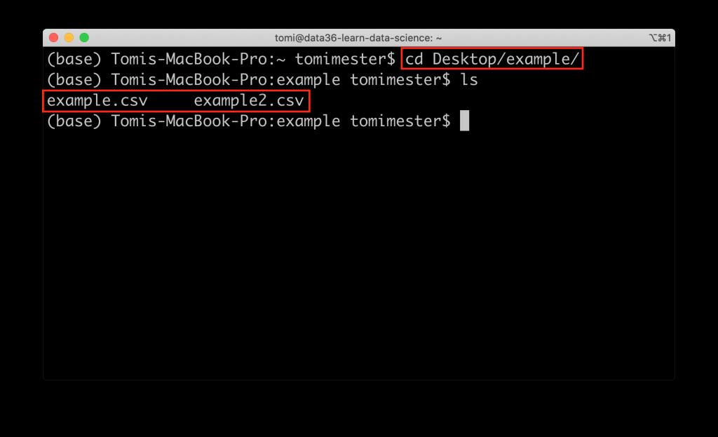 datasets computer command line