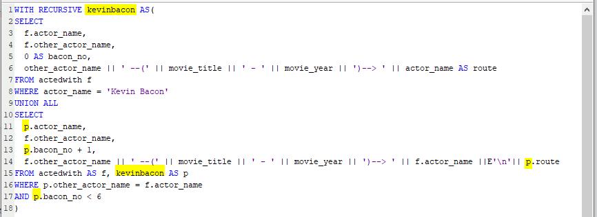 CTE example SQL