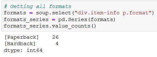 beautiful soup html parsing