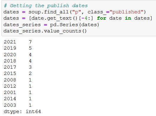 data hobby web scraping