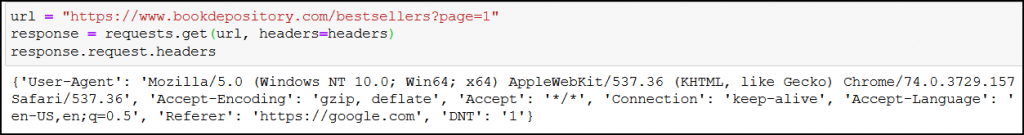request get header user agent web scraping