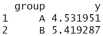aggregate function r statistics
