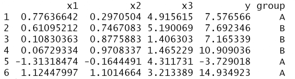 dataframe r statistics dataset